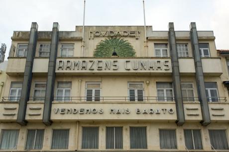 Armazéns Cunhas, Praça de Lisboa, Porto, Portugal, April 2012