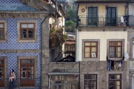 Rua São João, Porto, Portugal, March 2012