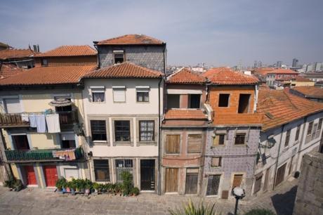 Rua de São Sebastião, Porto, Portugal, March 2012
