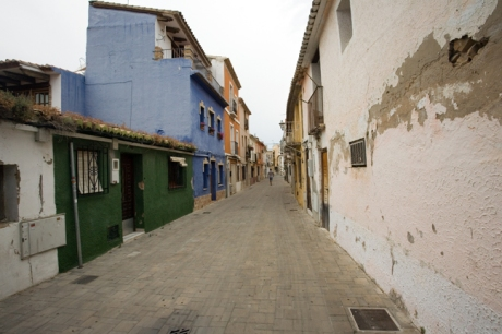 Calle Britbau, Denia, Spain, June 2012