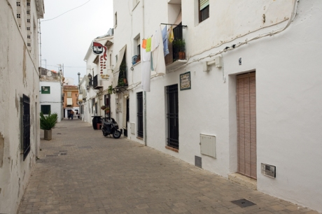 Carrer de Saint Vincent de la Mar, Denia, Spain, June 2012
