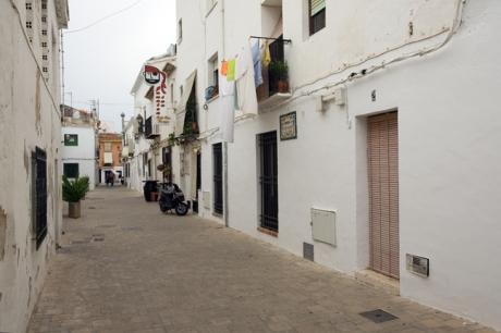 Carrer de Saint Vincent de la Mar, Denia, Spain, June 2012