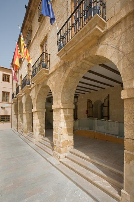 Denia Town Hall, Denia, Spain, June 2012