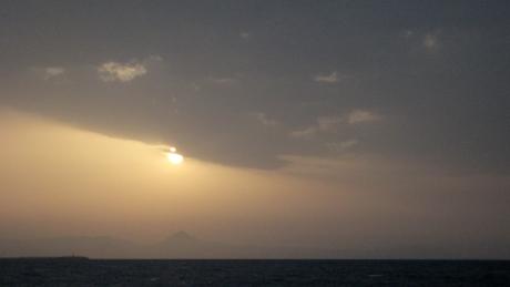 Sunset, Port Dénia, Denia, Spain, June 2012