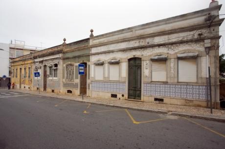 Rua Reitor Teixeira Guedes, Faro, Portugal, November 2012