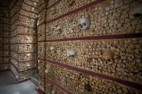 Capela dos Ossos, Igreja do Carmo, Faro, Portugal, November 2012