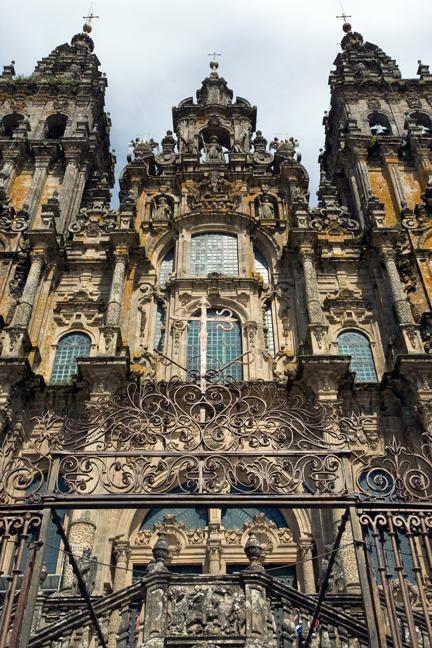 Catedral de Santiago de Compostela, Santiago, Spain, July 2013