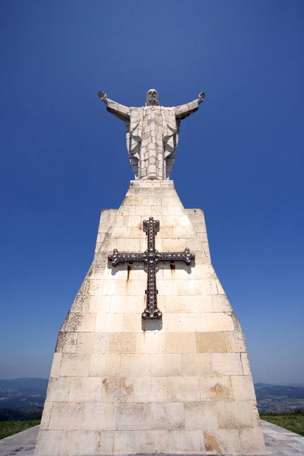 Cristo del Monte Naranco, Oviedo, Spain, July 2013