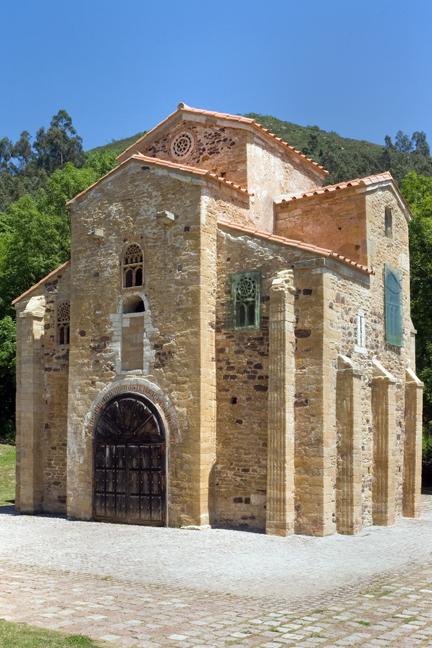 San Miguel de Lillo, Oviedo, Spain, July 2013