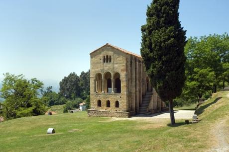 Santa maria del Naranco, Oviedo, Spain, July 2013