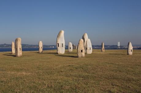 Menhires, El Parque Escultórico, A Coruna, Spain, July 2013