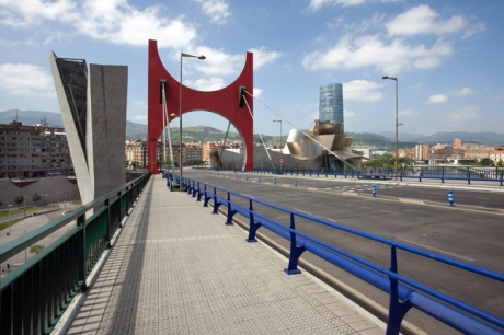 La Salve Bridge, Bilbao, Spain, July 2013