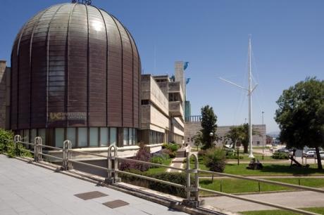 Planetario, Calle Castelar, Santander,  Spain, July 2013