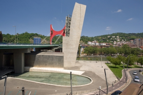 Salve Bridge, Bilbao, Spain, July 2013