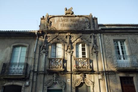 Rua do Pombal, Santiago de Compostela, Spain, July 2013