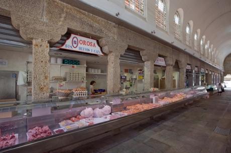 Mercado de Abastos, Santiago de Compostela, Spain, July 2013