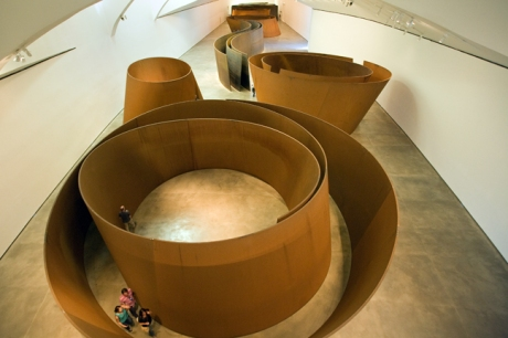 Richard Serra, Museo Guggenheim, Bilbao, Spain, July 2013