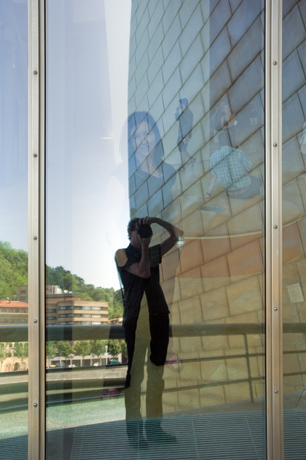 Reflected, Museo Guggenheim, Bilbao, Spain, July 2013