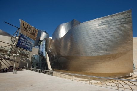 Museo Guggenheim, Frank Gehry, Bilbao, Spain, July 2013
