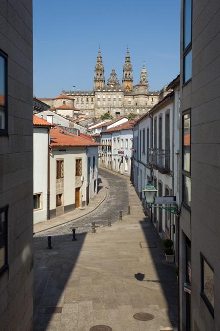 Rua das Hortas, Santiago de Compostela, Spain, July 2013