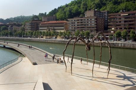 Bourgeois, Maman, Museo Guggenheim, Bilbao, Spain, July 2013
