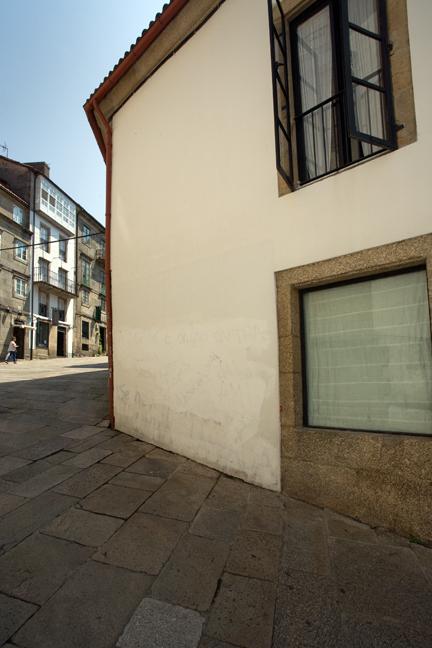 Plaza de Feijoo, Santiago de Compostela, Spain, July 2013