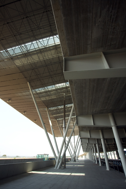 Airport, Lavacolla, Santiago de Compostela, Spain, July 2013
