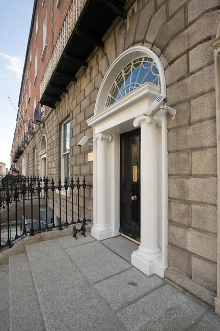 Upper Mount Street, Dublin, March 2014
