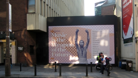 Leeson Street, Dublin, Ireland, Sept 2014