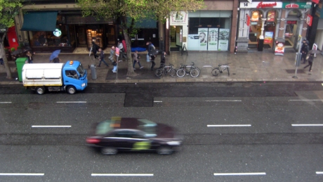 Westmoreland Street, Dublin, Ireland, May 2014
