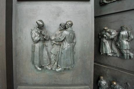 Slavín War Memorial, Bratislava, Slovakia, April 2014