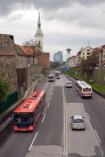 Staromestska, Bratislava, Slovakia, April 2014