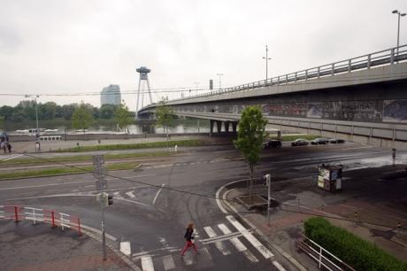 Novy Most, Bratislava, Slovakia, April 2014