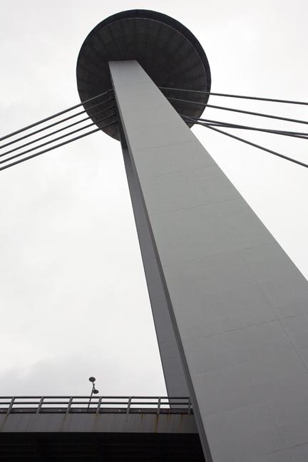 UFO, Novy Most 1, Bratislava, Slovakia, April 2014