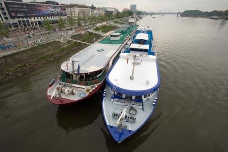 The Danube, Bratislava, Slovakia, April 2014