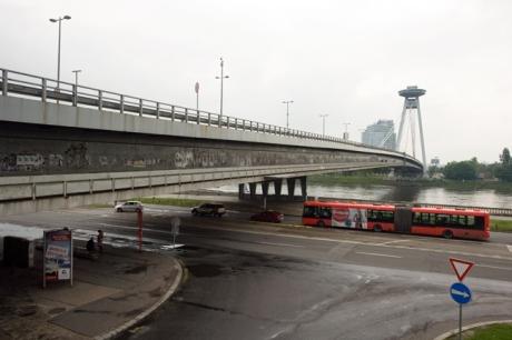 Novy Most , Bratislava, Slovakia, April 2014