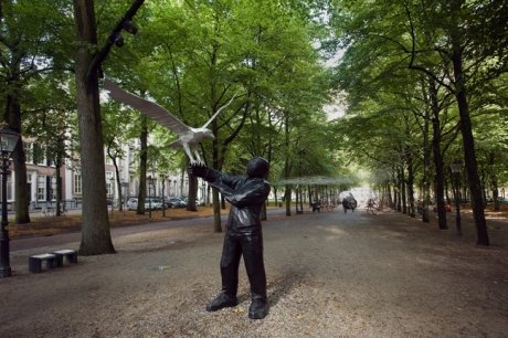 Lange Voorhout , The Hague, The Netherlands, August 2014