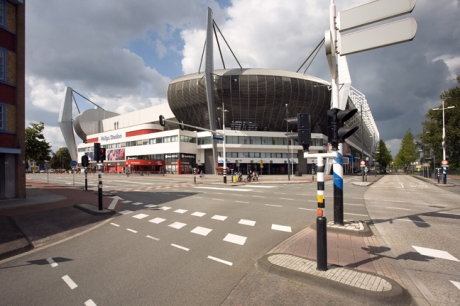 PSV-laan, Eindhoven, The Netherlands, August 2014