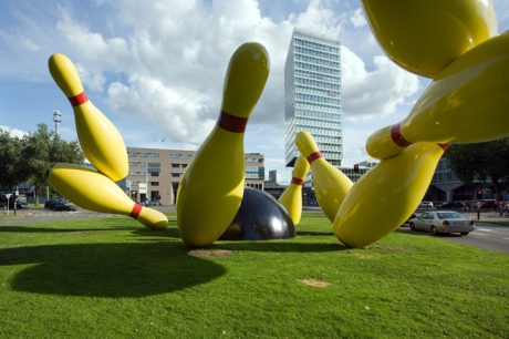 Flying Pins, Kennedylaan, Eindhoven, The Netherlands, August 2014