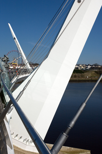 Peace Bridge, Derry, Ireland 2015