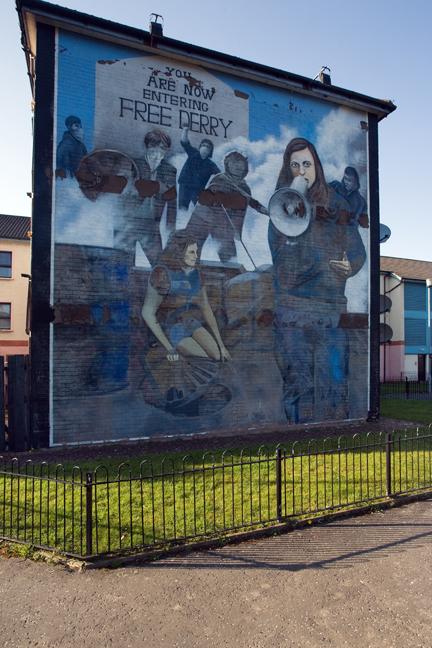 Glenfada Park, Derry, Ireland 2015