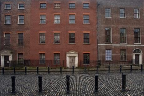 Henrietta Street, Dublin, Ireland, March 2015