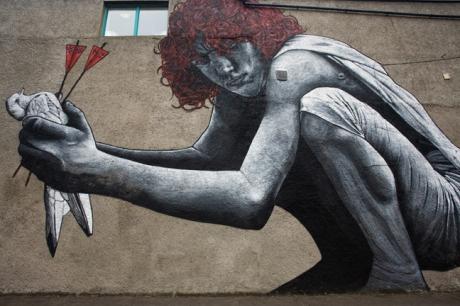 Talbot Street, Belfast, Ireland, June 2015