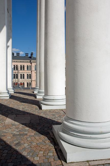 Helsingin tuomiokirkko, Helsinki, Finland, July 2015