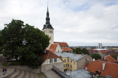 from the Danish King's Garden,Tallinn, Estonia, July 2015