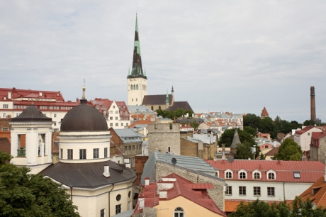 From Hellemann Tower,Tallinn, Estonia, July 2015
