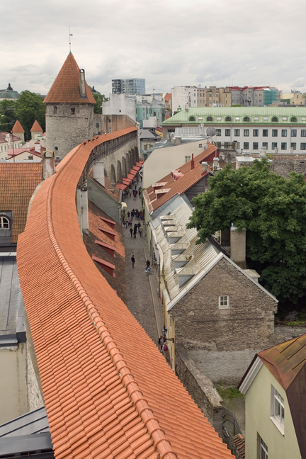 From Hellemann Tower, Tallinn, Estonia, July 2015