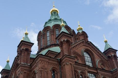 Uspenskin katedraali, Helsinki, Finland, July 2015