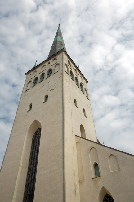 St Olaf's Church,Tallinn, Estonia, July 2015