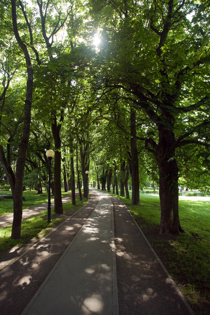 Kadrioru park, Tallinn, Estonia, July 2015